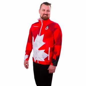 Team Canada Jacket Mens Red