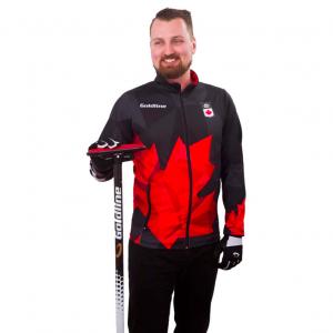 Team Canada Jackets Mens Black