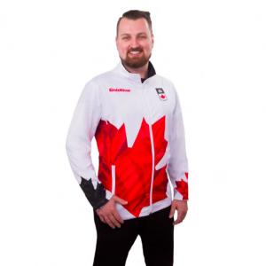 Team Canada Jacket Men white