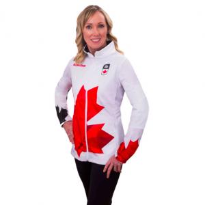 Team Canada Jacket W White
