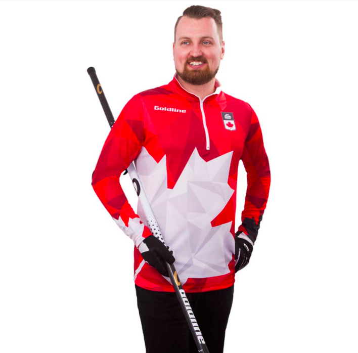 Team Canada LS Shirts M Red