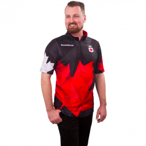 Team Canada SS Shirt M Black