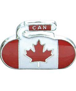 Canada Flag Curling Pin