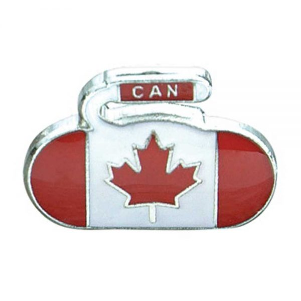 Canada Flag Curling Pin