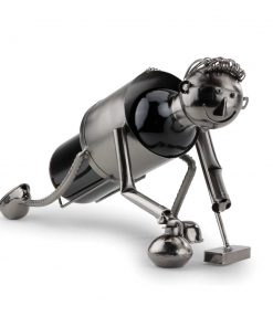 Novelty Curling Wine Caddy