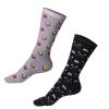 Designer Curling Socks