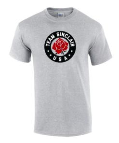 Team Sinclair Fan T-Shirt - Grey