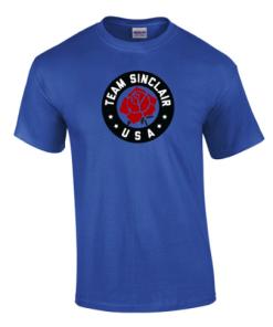 Team Sinclair Fan T-Shirt - Royal Blue