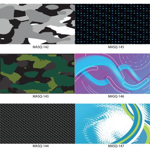 MASQ Designs 142-147