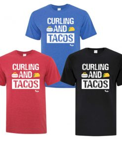 Curling And Tacos T-Shirt