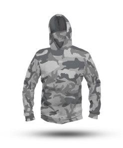 Camouflage Performance HooDoo Camo Grey