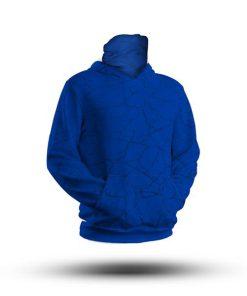 Faded Blue Team HooDoo 4